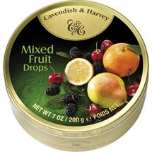 Picture of Cavendish & Harvey Mixed Fruit Drops 50g (GF)