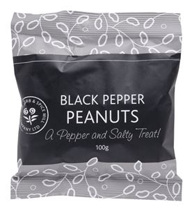 Picture of Black Pepper Peanuts (100g)
