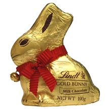 Picture of Lindt Gold Chocolate Bunny