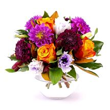 Picture of Bright Posy in Vase