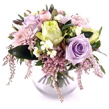 Picture of Pastel Posy in a Vase