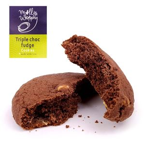 Picture of Triple Chocolate Fudge Cookie 65g