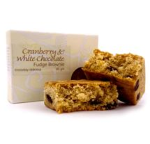 Picture of Cranberry & White Chocolate Brownie (80g)