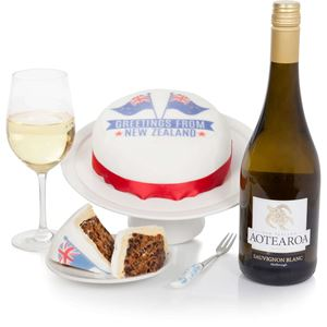 Picture of New Zealand Cake and Wine