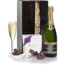 Picture of The Champagne and Truffles Gift Box