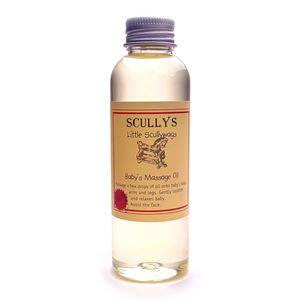 Picture of Scullys Baby Massage Oil 100ml