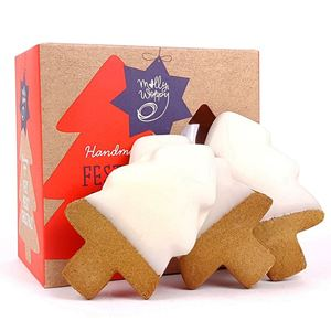 Picture of Festive Iced Gingerbread Trees 145g