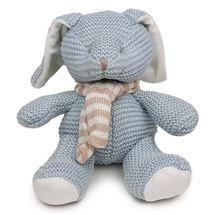 Picture of Blue Knitted Bunny