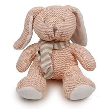 Picture of Pink Knitted Bunny