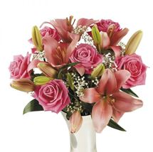 Picture of Lilies and Roses