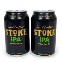 Picture of Two Cans of Stoke IPA 330ml