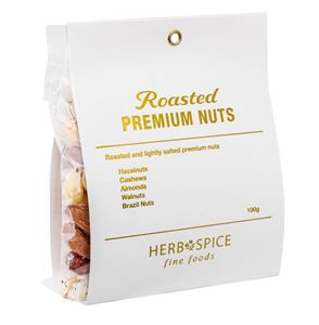 Picture of Roasted Premium Nuts 100g (GF, DF, V)