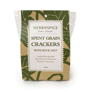 Picture of Spent Grain Crackers (100g) (DF, V)